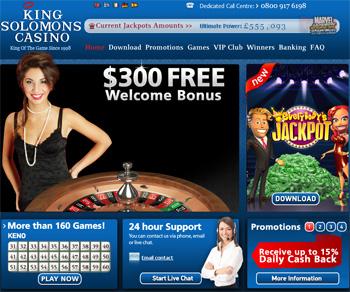 King Solomon's Casino Review